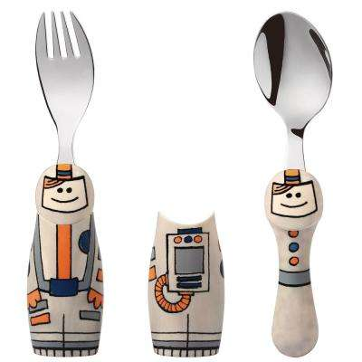 Duo Astronaut/Fireman 6-Piece Flatware Set