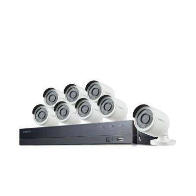 16-Channel 1080p 2TB DVR Surveillance System with 8-Wired Bullet Cameras