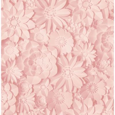 Dacre Pink Floral Wallpaper