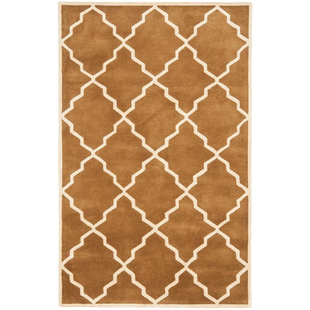 Chatham Brown 5 ft. x 8 ft. Area Rug