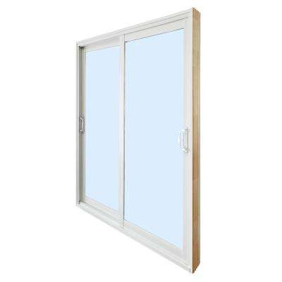 double sliding patio door clear low e - Home Depot Sliding Glass Door