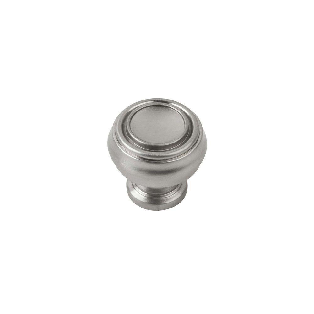 Sumner Street Home Hardware 1-1/4 in. Satin Nickel Round Cabinet Knob