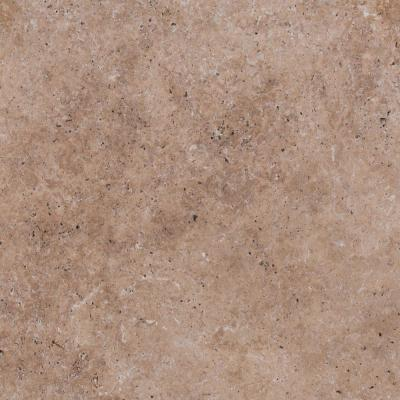 Mediterranean Walnut 16 in. x 16 in.Tan Travertine Paver Tile (60-Pieces/109.5 Sq. Ft./Pallet)