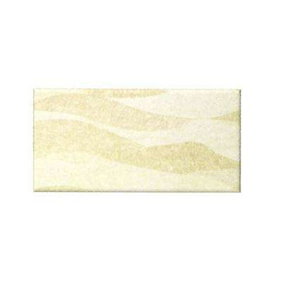 Peel and Stick Sand Dunes Shades 3 in. x 6 in. Glass Wall Tile (48-Pack)