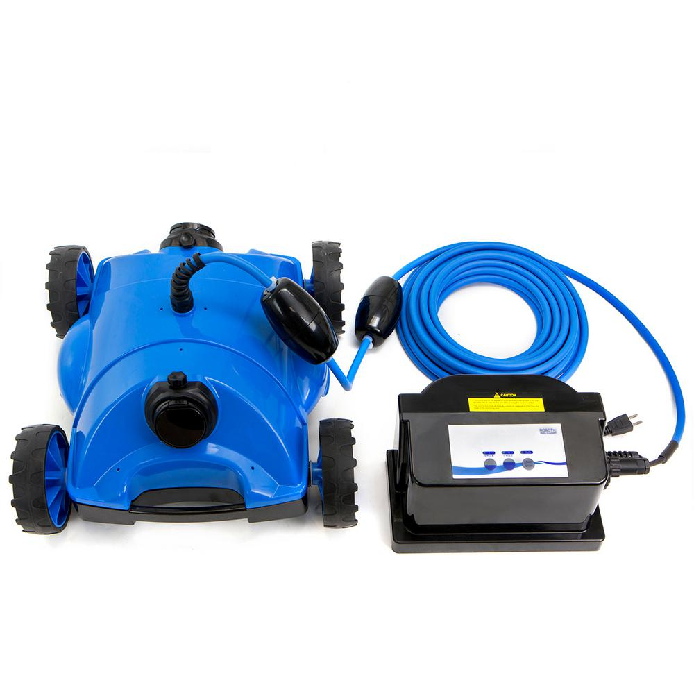 Xtremepowerus robotic style pool cleaner floor vacuum for Above ground pool vacuum ideas