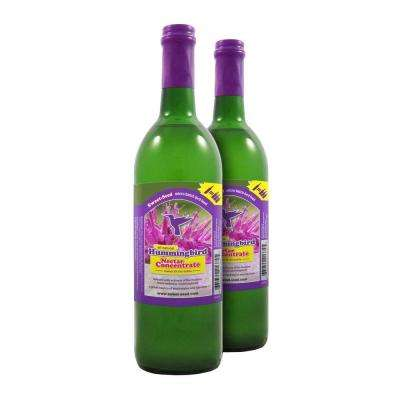 750 ml Sweet-Nectar Premium Concentrated Hummingbird Nectar/Food (2-Pack)