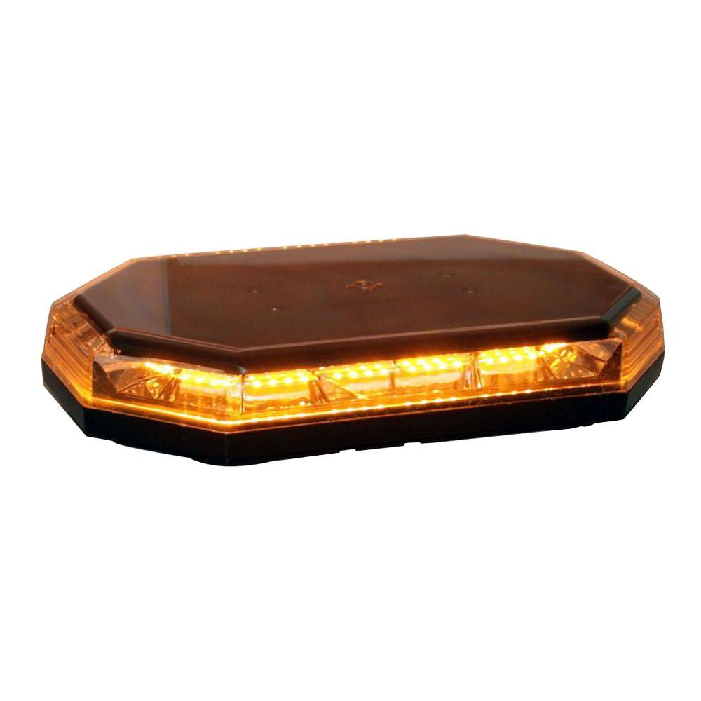 Mini Led Light Bar >> Buyers Products Company 56 Amber Led Mini Light Bar 8891060 The