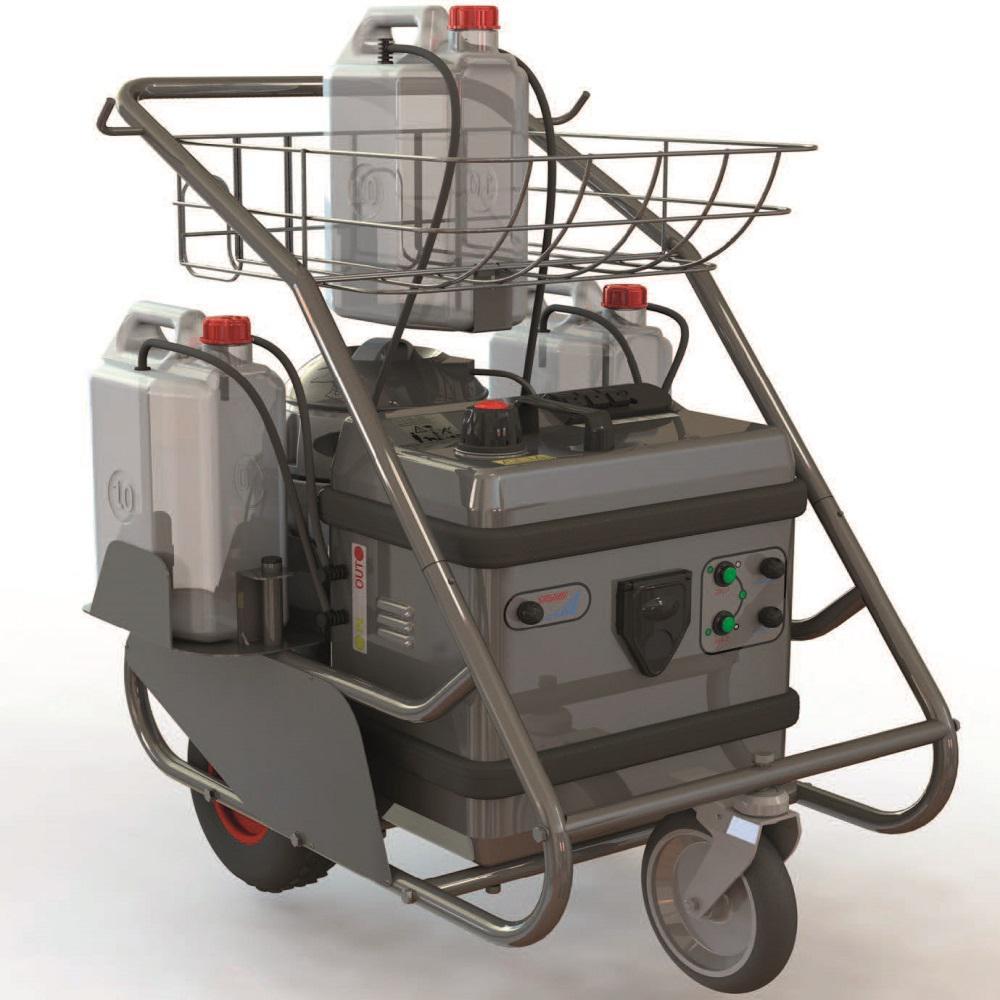 220-Volt Commerce Steam Vacuum Cleaner