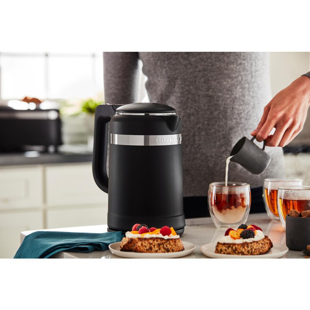 Pleasant Kitchenaid 6 3 Cup Black Matte Electric Kettle With Dual Download Free Architecture Designs Grimeyleaguecom