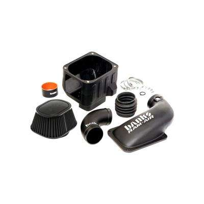 Ram-Air Intake System with Dry Filter for 2011-2012 Chevrolet, GMC, 6.6 l Duramax Diesel