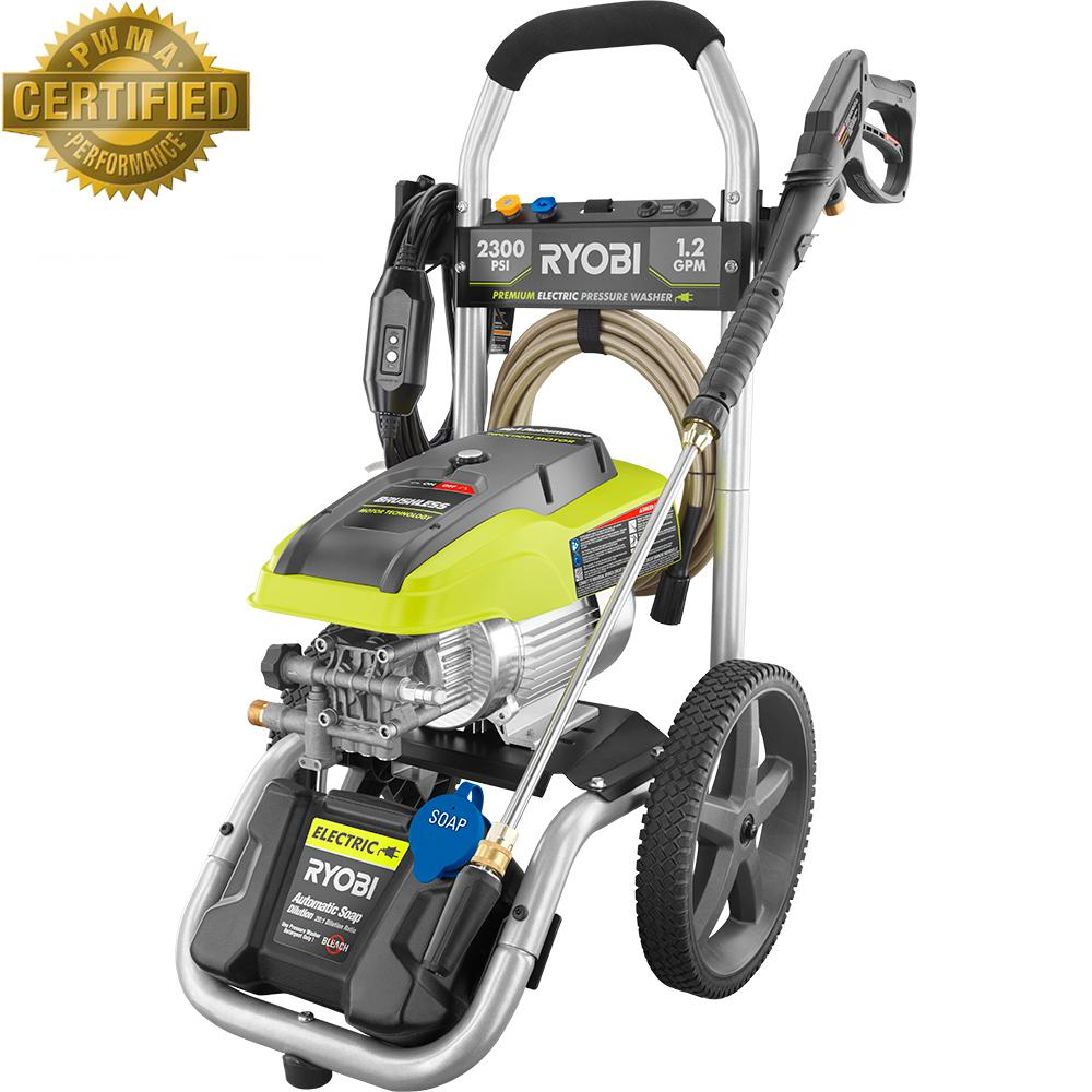 2300 PSI 12 GPM High Performance Electric Pressure Washer