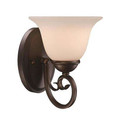 Laredo II 1-Light Antique Bronze Sconce