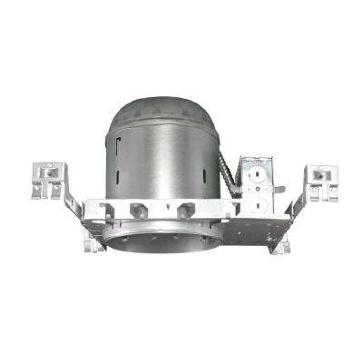 NICOR 6 in. Recessed Non-IC Housing