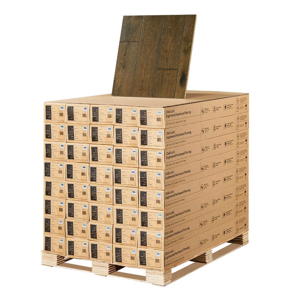 Malibu Wide Plank French Oak Stinson 3 8 In T X 6 1 2 In