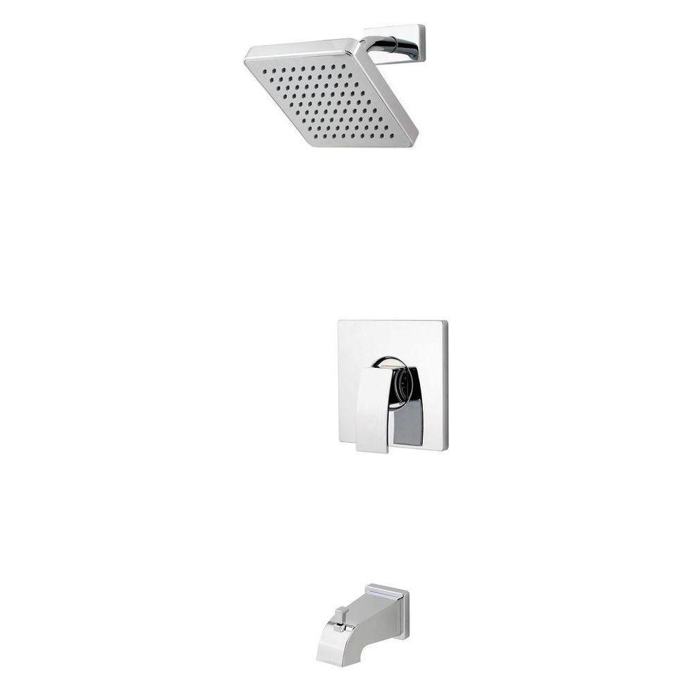 Pfister Kenzo Single Handle 1 Spray Tub And Shower Faucet