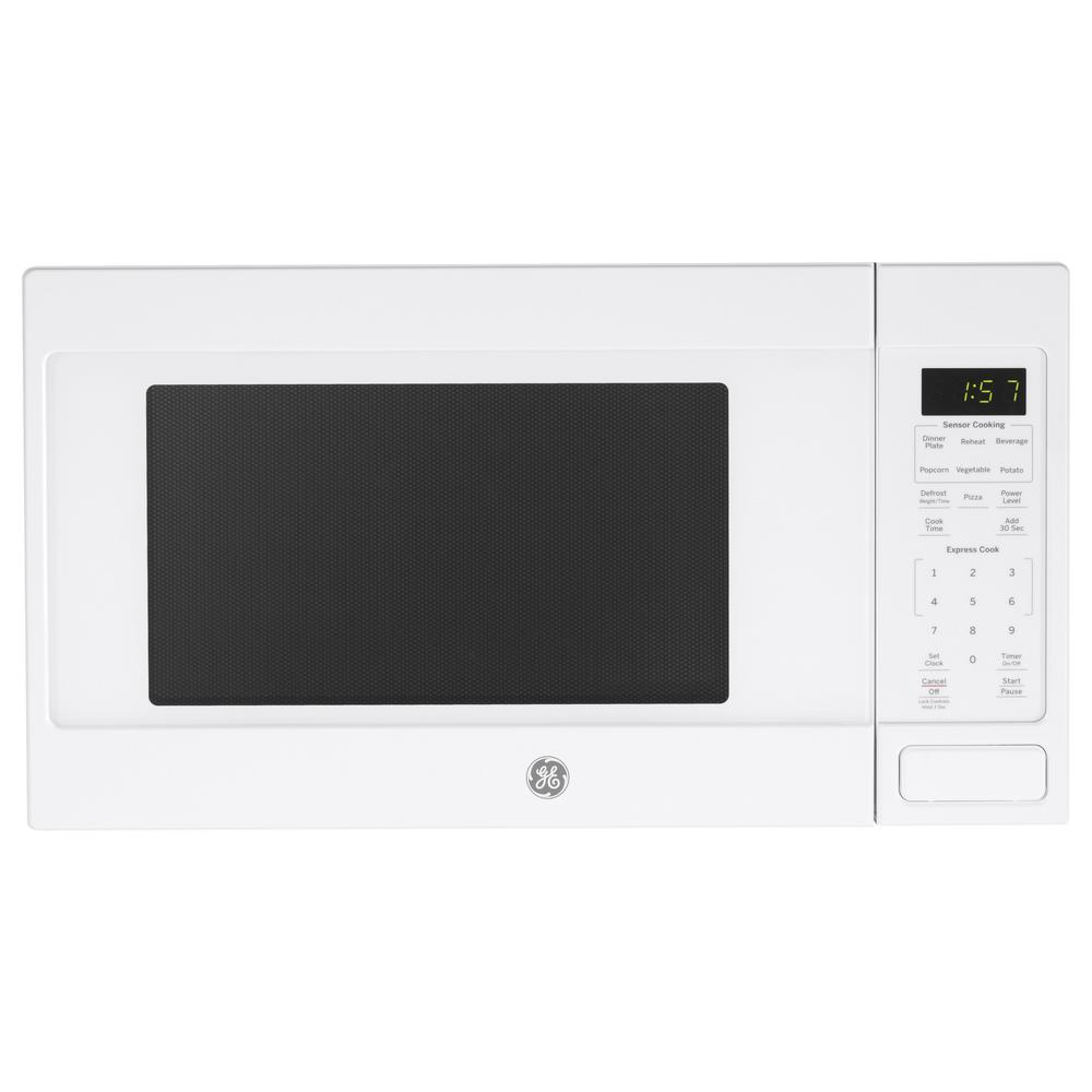Countertop Microwave In White With Sensor Cooking