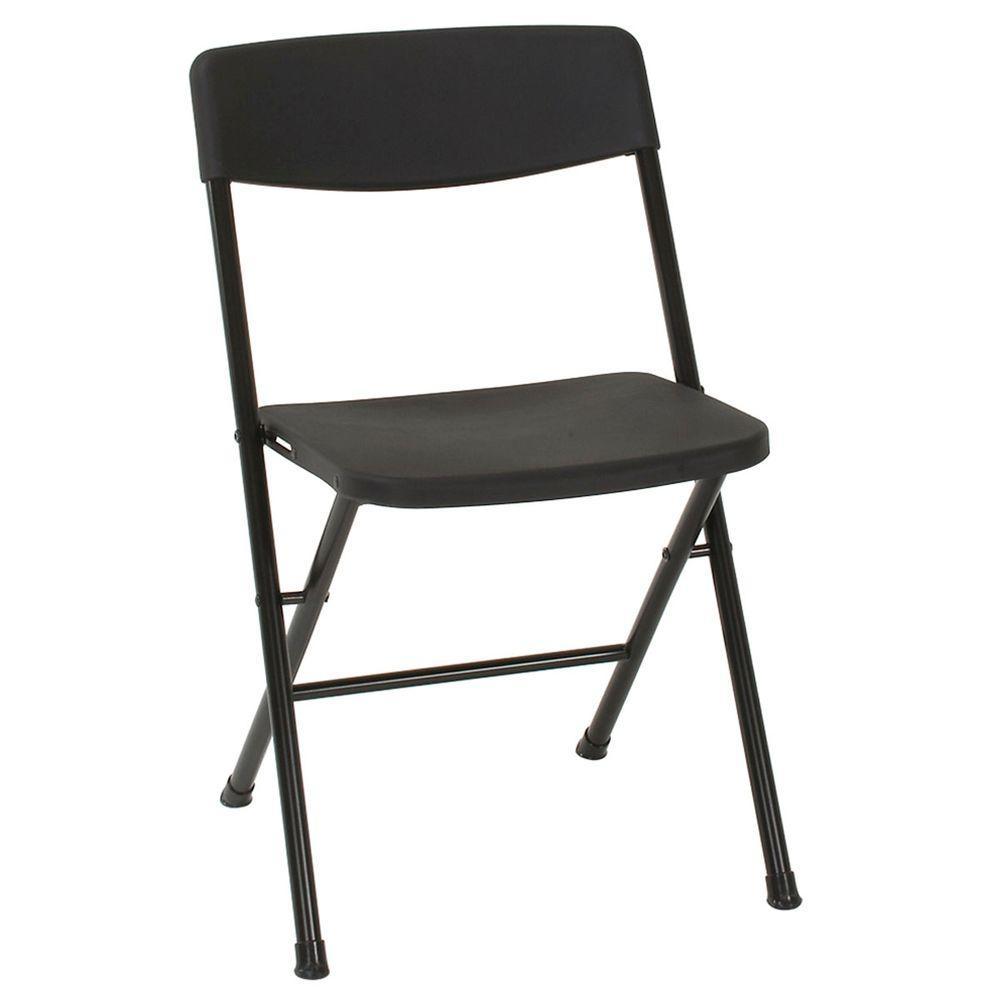 Black Folding Chair (Set of 4)