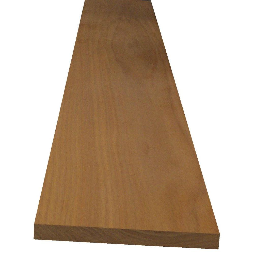 1 in. x 4 in. x 10 ft. S4S Red Oak
