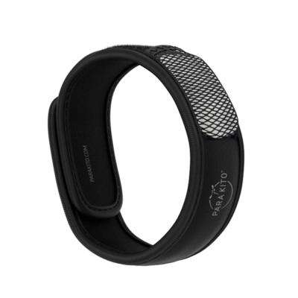 Black Refillable Mosquito Repellent Wristband