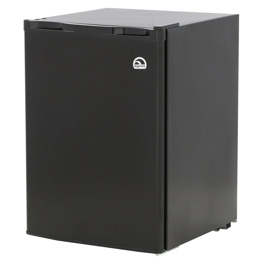 Igloo 2.6 cu. ft. Mini Refrigerator in Black