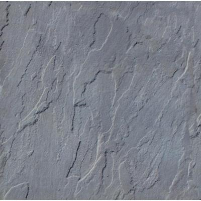 Patio-on-a-Pallet 12 in. x 12 in. Concrete Traditional Gray Yorkstone Paver (100-Pieces)