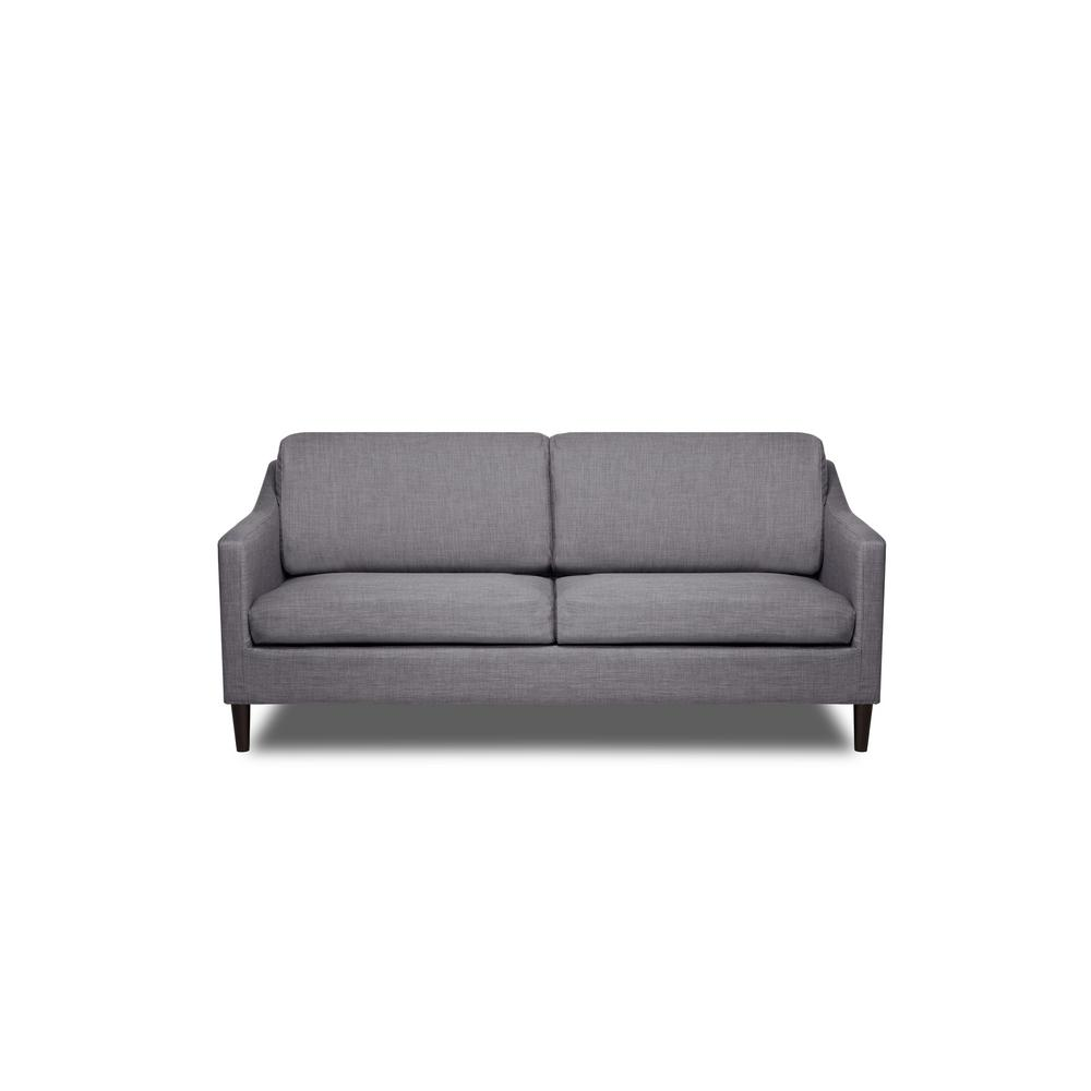 Decker Flannel Grey Sofa