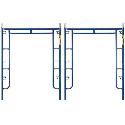 Saferstack 6.3 ft. x 5 ft. Mason Walk-Through Arch Scaffold Frame (2-Pack)