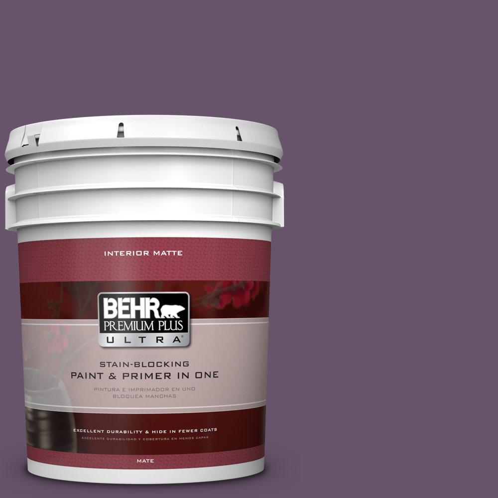 5 gal. #M100-6 Vintner Matte Interior Paint