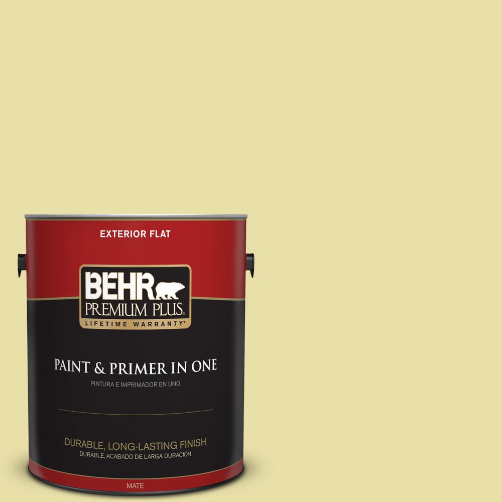 1 gal. #PPU8-12 Refreshing Tea Flat Exterior Paint