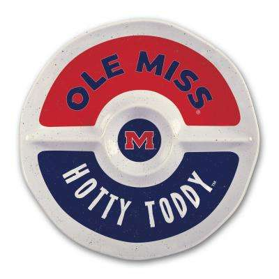 Ole Miss 15 in. Chip and Dip Server