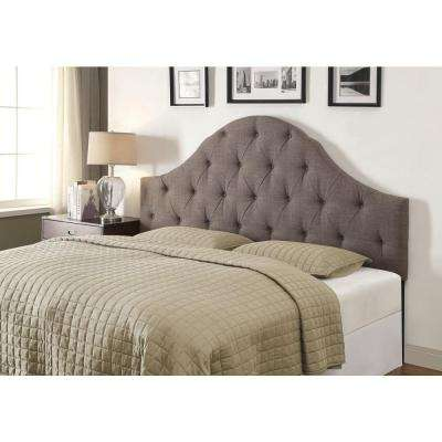 Slate Gray King Headboard