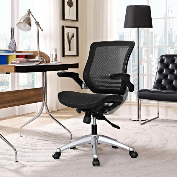 MODWAY Edge All Mesh Office Chair in Black