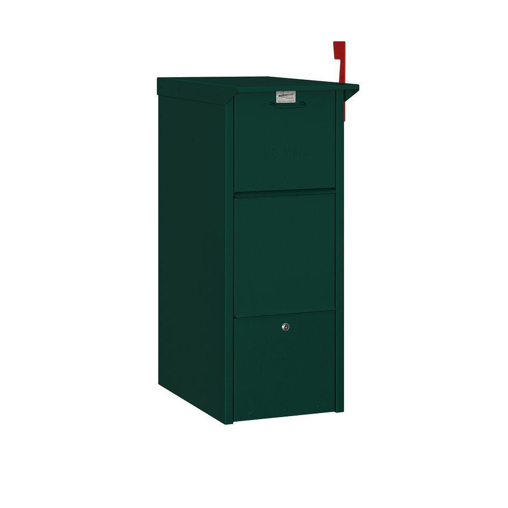 Salsbury Industries 4300 Series Mail Package Drop in Green