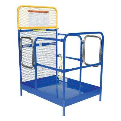 36 in. x 48 in. Steel Work Platform with Dual Entrance