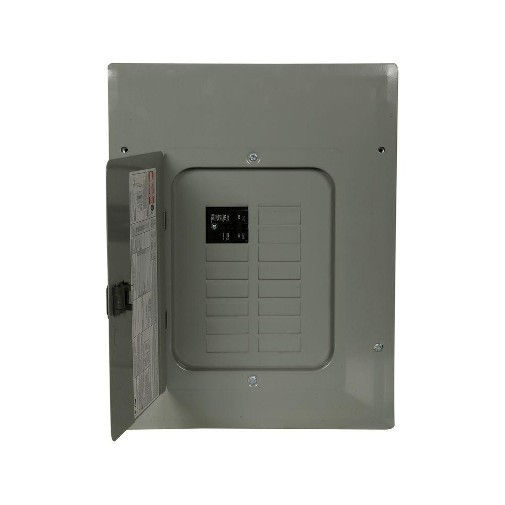 BR 100 Amp 12-Space 20-Circuit 22K Main Breaker Load Center