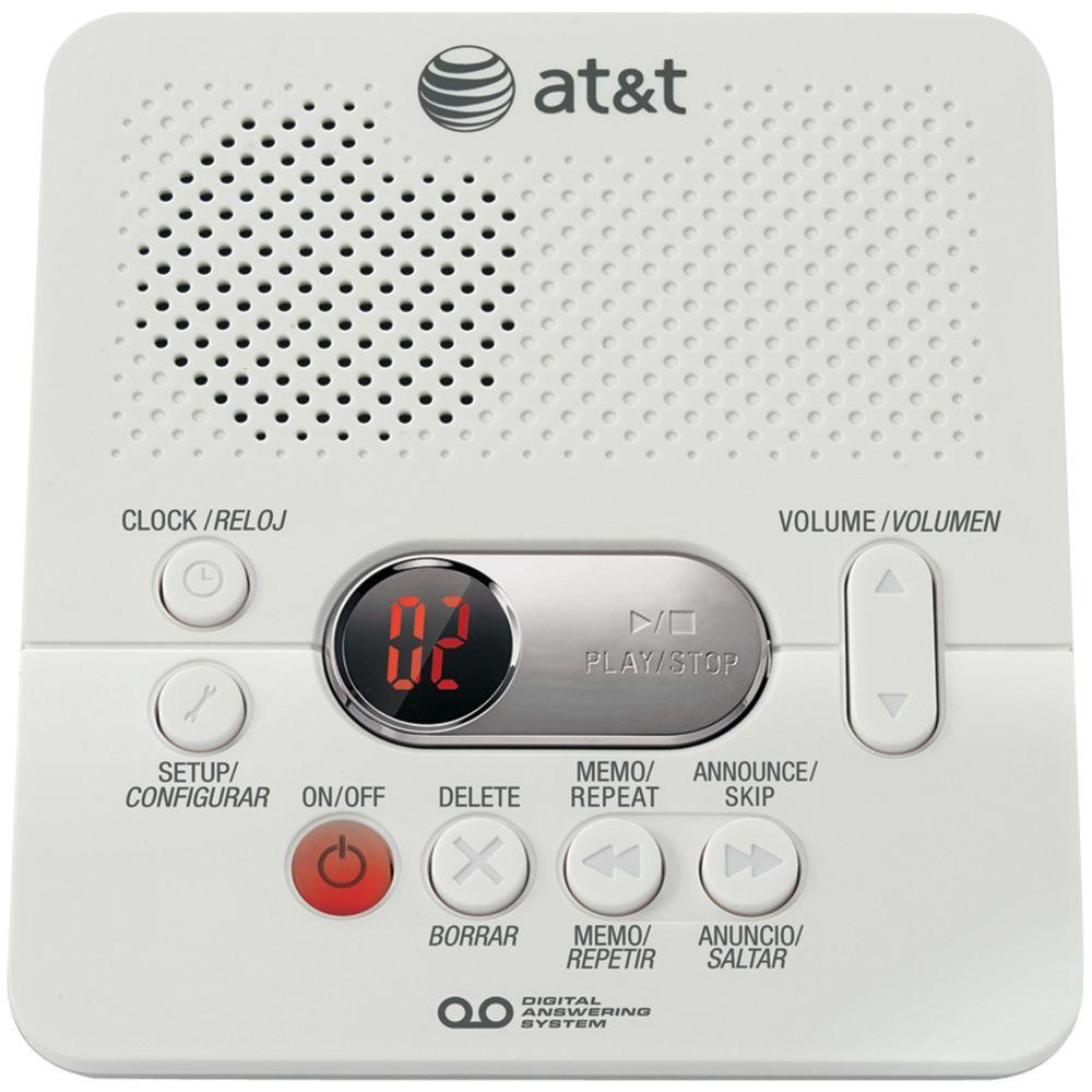AT&T Digital Answering Machine with Variable Speed Playback