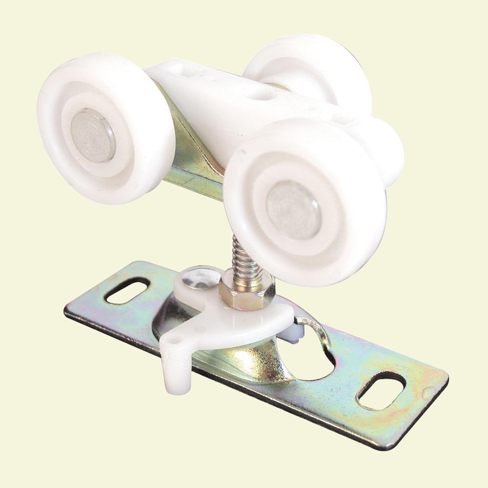 Prime-Line 3/4 in. Flat Nylon Wheel Bi-Fold Door Roller