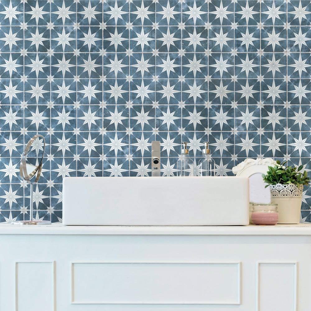 Harmonia Kings Star Sky 13 in. x 13 in. Ceramic Floor and Wall Tile (12.19 sq. ft./Case)