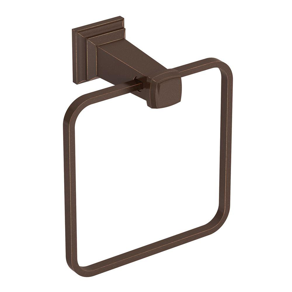 Symmons Oxford Towel Ring in Oil-Rubbed Bronze