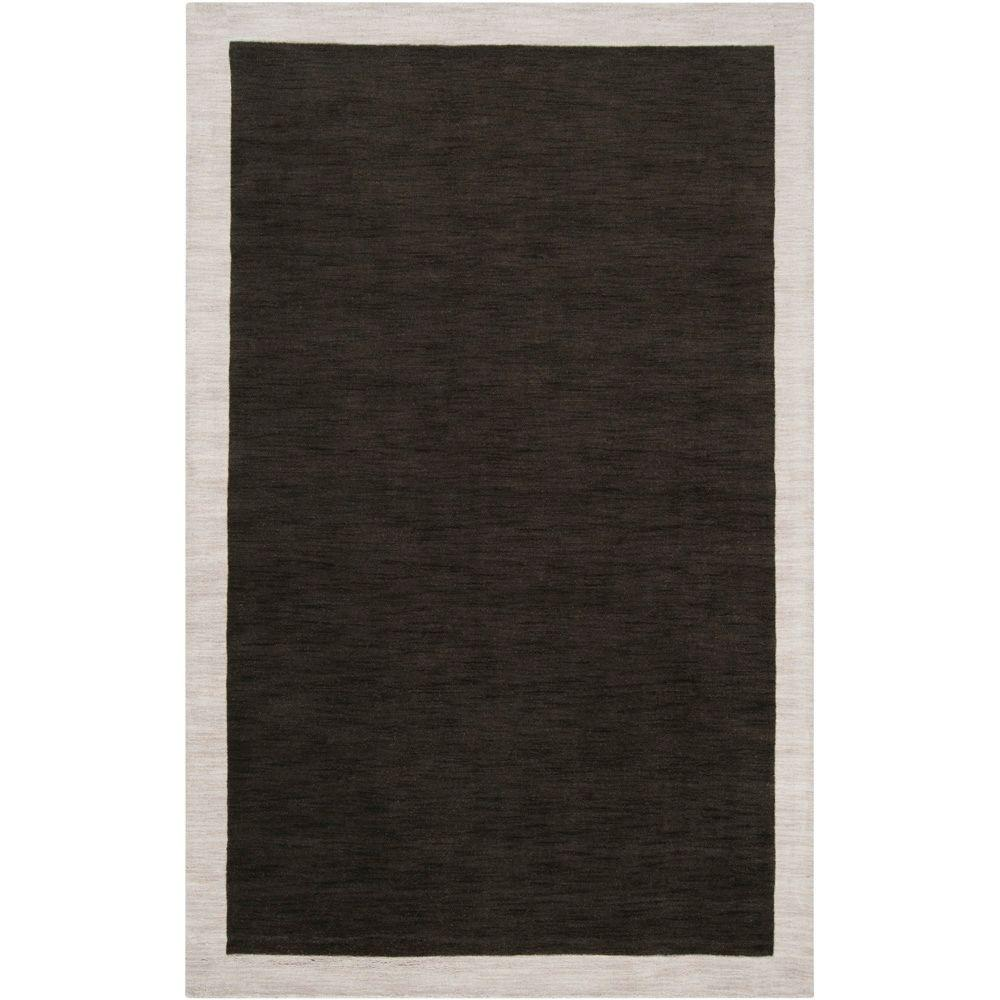 Surya angelo:HOME Coal Black 2 ft. x 3 ft. Accent Rug