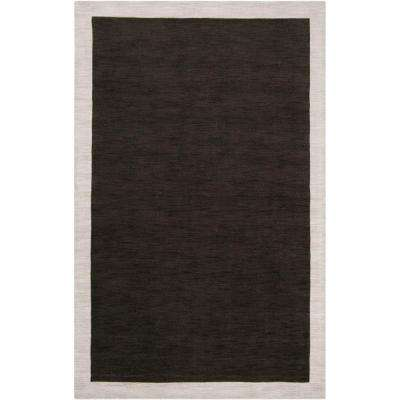 angelo:HOME Coal Black 3 ft. 3 in. x 5 ft. 3 in. Area Rug