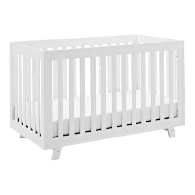 Beckett White 3In1 Convertible Crib