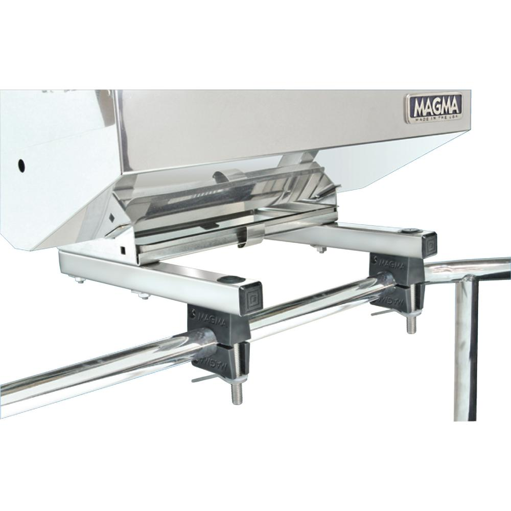 Dual Extended Horizontal Round Rail (HD) Mount for ChefsMate, Newport, Catalina,