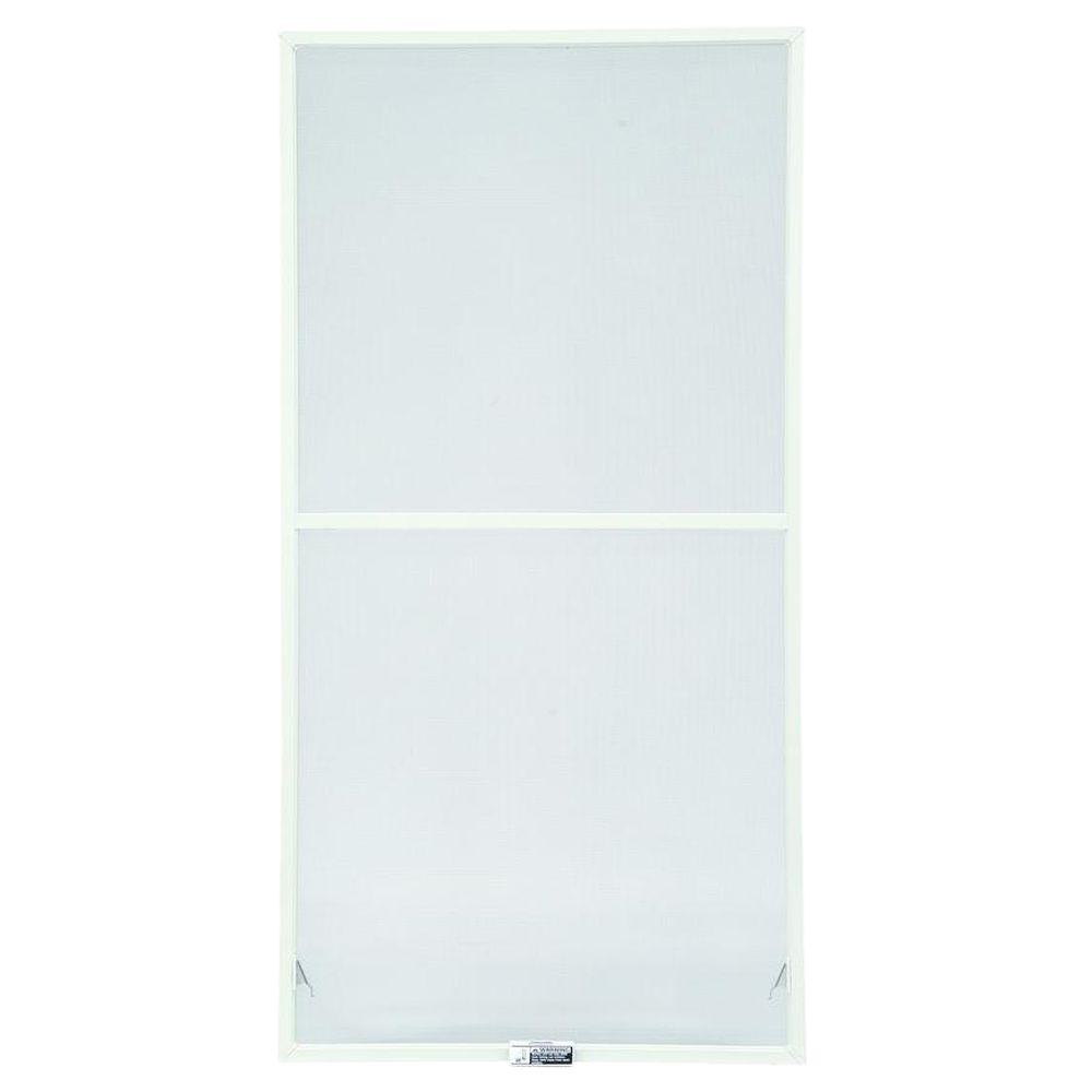 Andersen 31-7/8 in. x 62-27/32 in., White Aluminum Insect Screen, For 400 Series & 200 Series Narroline Double-Hung Windows