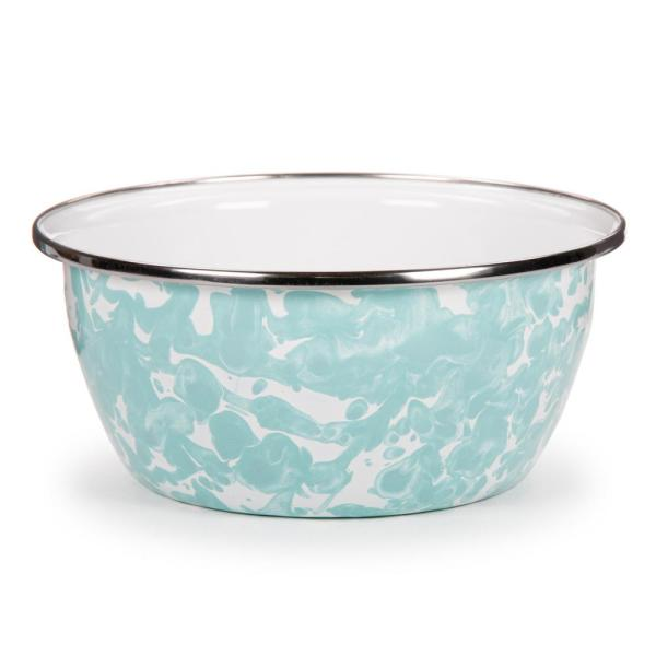 Sea Gl 3 Cup Enamelware Salad Bowl