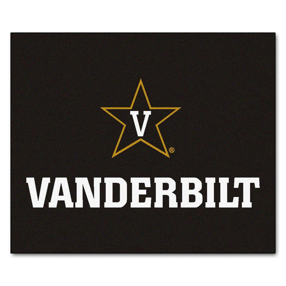 FANMATS Vanderbilt University 5 ft. x 6 ft. Tailgater Rug