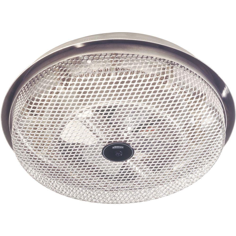 null Wire Element 1250W Ceiling Fan Forced Heater