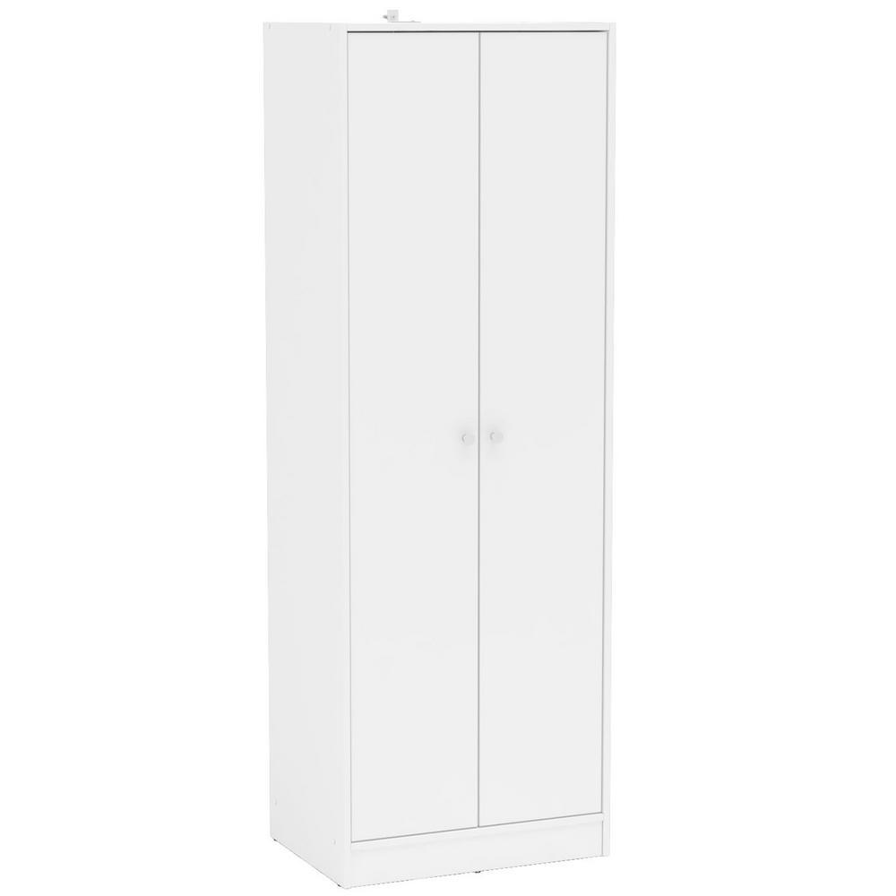Cambridge White Wardrobe with 2 Doors