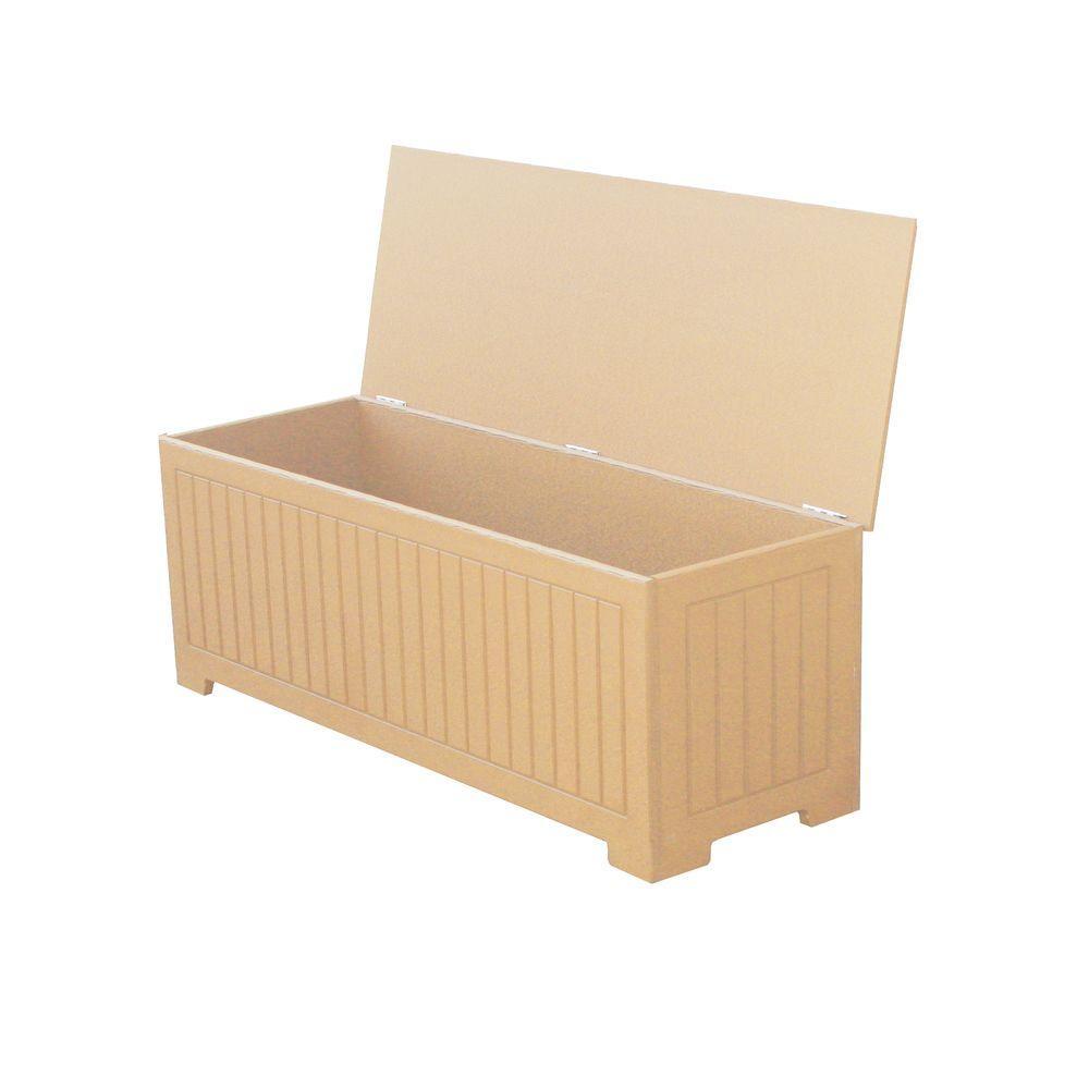 Sydney 36.75 Gal. Cedar Recycled Plastic Commercial Grade Deck Box