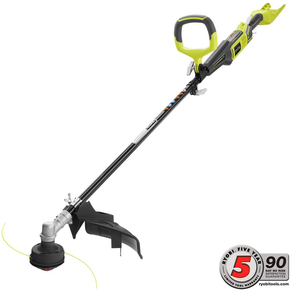 Ryobi 40-Volt X Lithium-Ion Cordless Attachment Capable String Trimmer - Battery and Charger Not Included